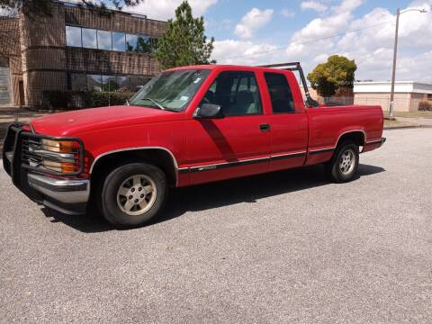 1998 Chevrolet C/K 1500 Series for sale at Affordable Auto Spot in Houston TX