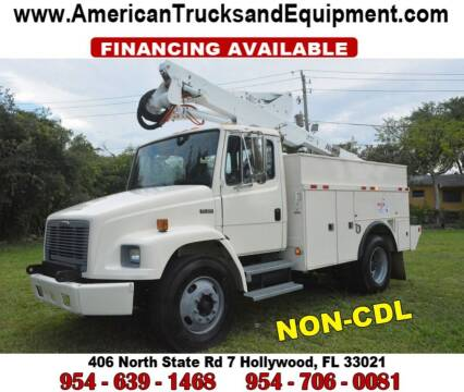 2001 Freightliner FL60 for sale at American Trucks and Equipment in Hollywood FL