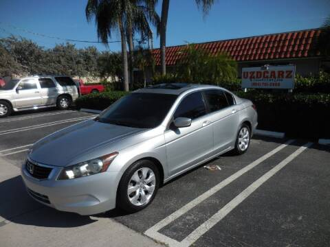 2008 Honda Accord for sale at Uzdcarz Inc. in Pompano Beach FL