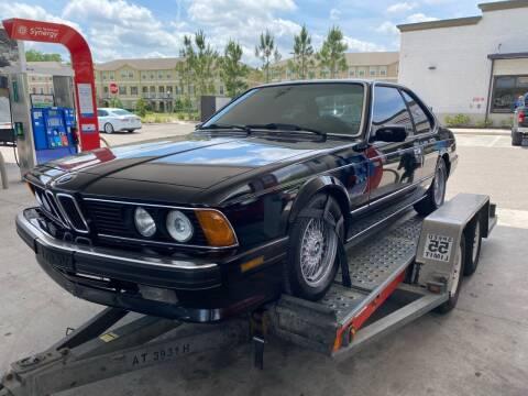 1988 BMW 6 Series for sale at American Classics Autotrader LLC in Pompano Beach FL