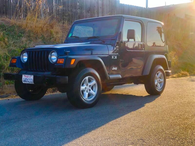 2002 Jeep Wrangler for sale at Elite Car Center in Spring Valley CA