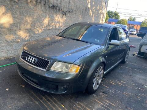 2003 Audi RS 6 for sale at American Best Auto Sales in Uniondale NY