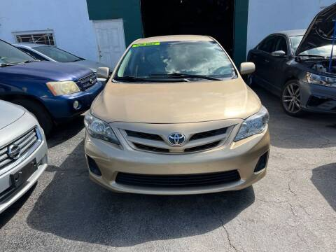 2011 Toyota Corolla for sale at Dream Cars 4 U in Hollywood FL