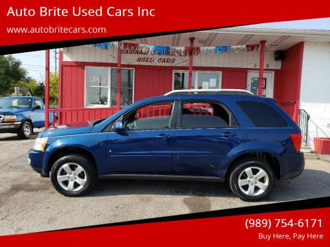 2008 Pontiac Torrent for sale at Auto Brite Used Cars Inc in Saginaw MI