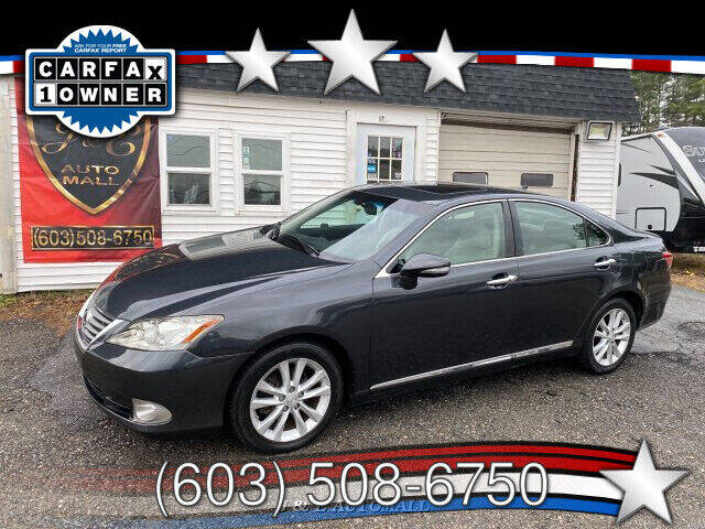 2010 Lexus ES 350 for sale at J & E AUTOMALL in Pelham NH