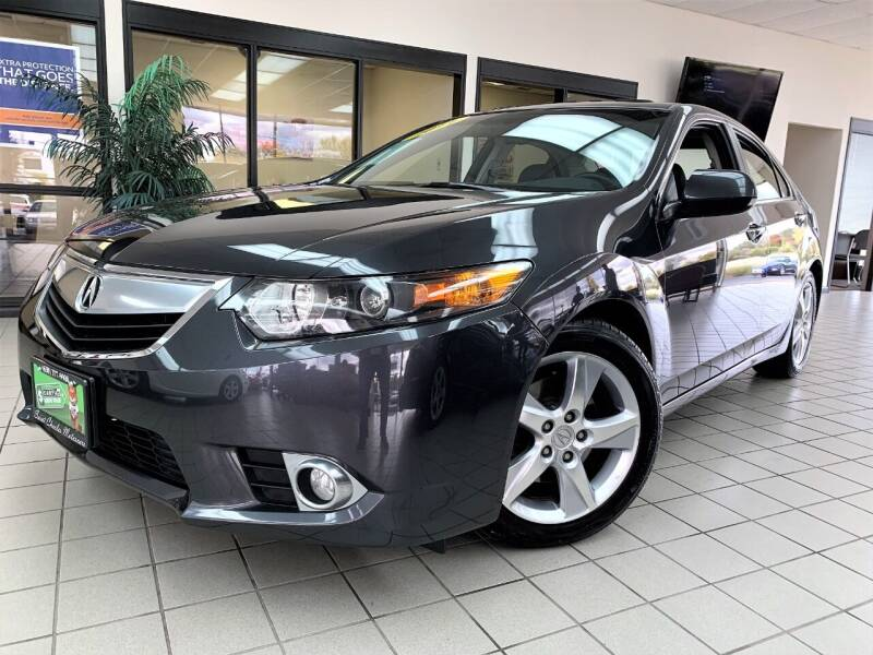 2011 Acura TSX for sale at SAINT CHARLES MOTORCARS in Saint Charles IL