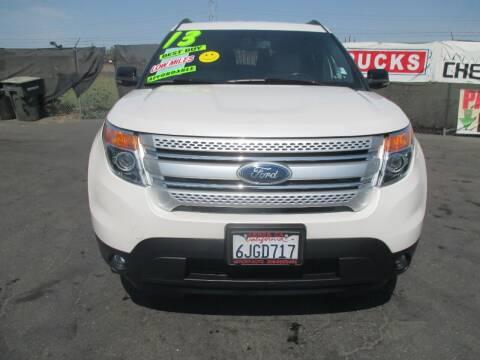 2013 Ford Explorer for sale at Quick Auto Sales in Modesto CA
