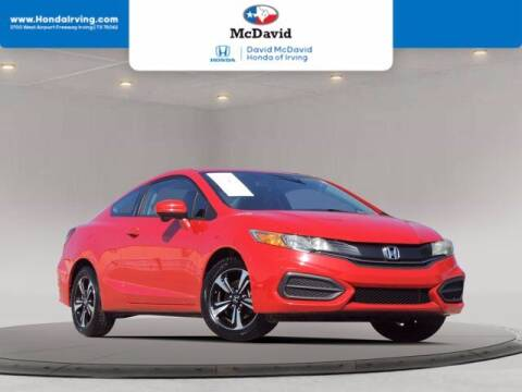 2015 Honda Civic for sale at DAVID McDAVID HONDA OF IRVING in Irving TX