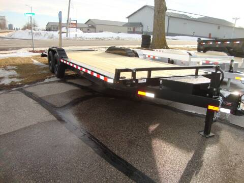 2021 H&H 102x20+4' Dovetail Full Ramps for sale at Ditsworth Auto Sales in Bancroft IA