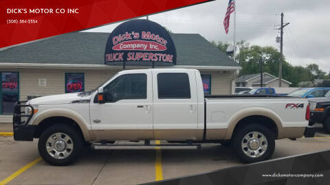 2014 Ford F-250 Super Duty for sale at DICK'S MOTOR CO INC in Grand Island NE