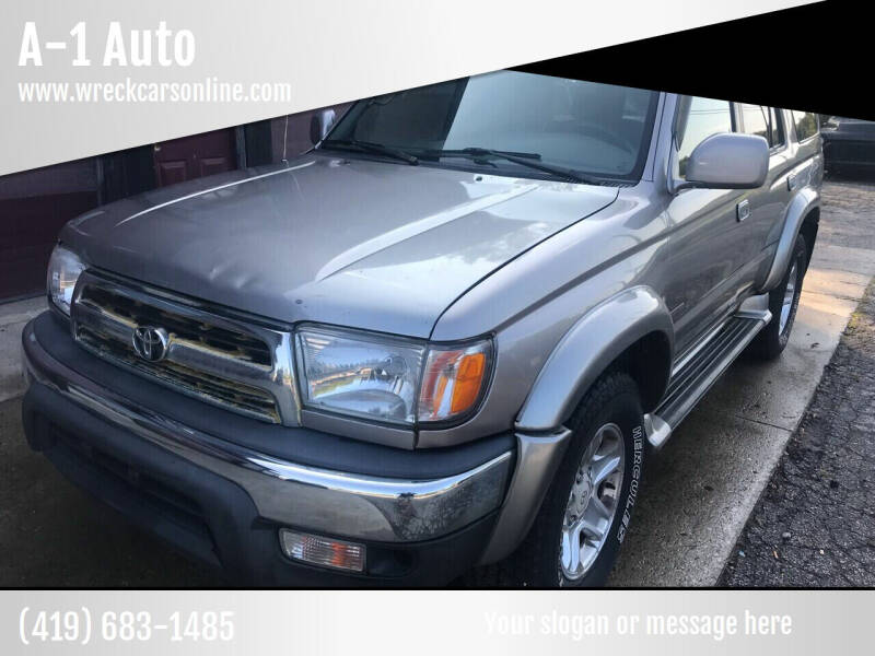 2002 Toyota 4Runner for sale at A-1 Auto in Crestline OH
