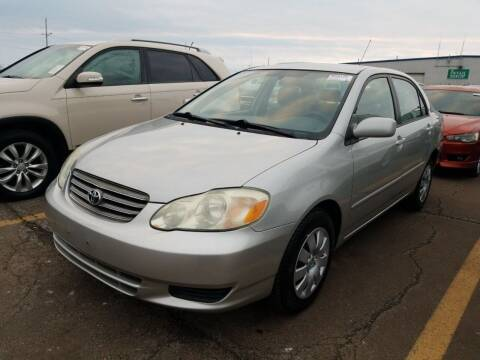 2004 Toyota Corolla for sale at JDL Automotive and Detailing in Plymouth WI