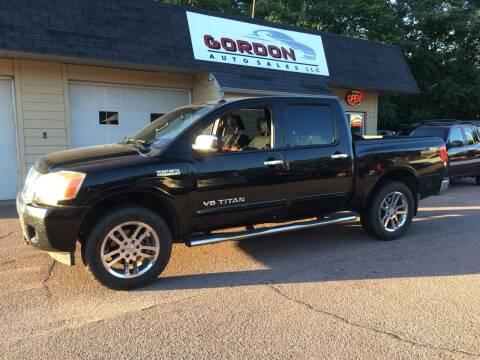2014 Nissan Titan for sale at Gordon Auto Sales LLC in Sioux City IA