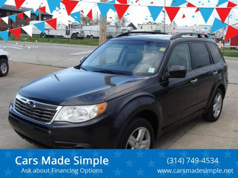 2009 Subaru Forester for sale at Cars Made Simple in Union MO