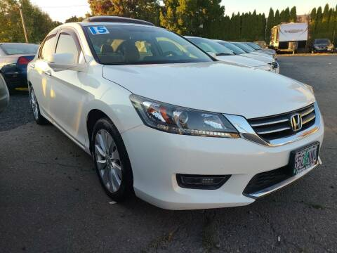 2015 Honda Accord for sale at Universal Auto Sales in Salem OR