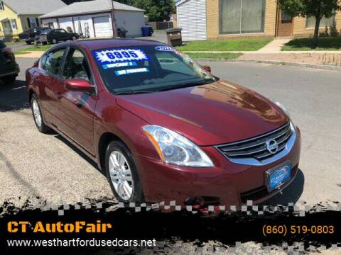 2011 Nissan Altima for sale at CT AutoFair in West Hartford CT