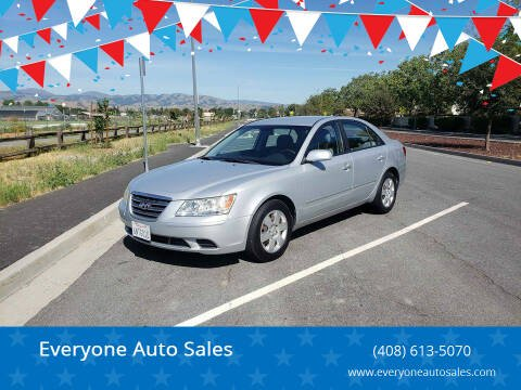 2010 Hyundai Sonata for sale at Everyone Auto Sales in Santa Clara CA