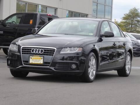 2010 Audi A4 for sale at Loudoun Used Cars - LOUDOUN MOTOR CARS in Chantilly VA
