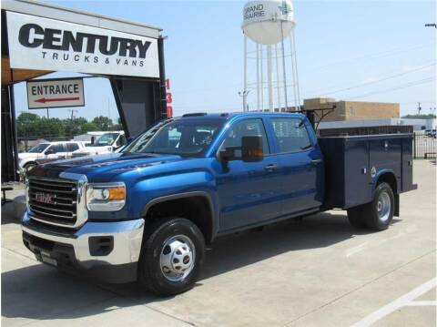 2019 GMC 3500 Sierra DRW for sale at CENTURY TRUCKS & VANS in Grand Prairie TX
