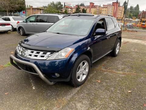 2004 Nissan Murano for sale at SNS AUTO SALES in Seattle WA