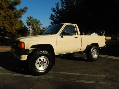 1986 Toyota Pickup for sale at California Cadillac & Collectibles in Los Angeles CA