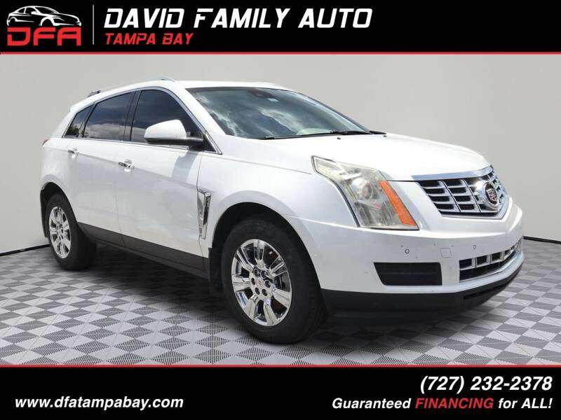 2014 Cadillac SRX for sale at David Family Auto in New Port Richey FL