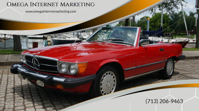 1987 Mercedes-Benz 560-Class for sale at Cars-yachtsusa.com in League City TX