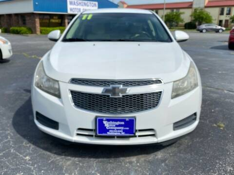 2011 Chevrolet Cruze for sale at East Carolina Auto Exchange in Greenville NC
