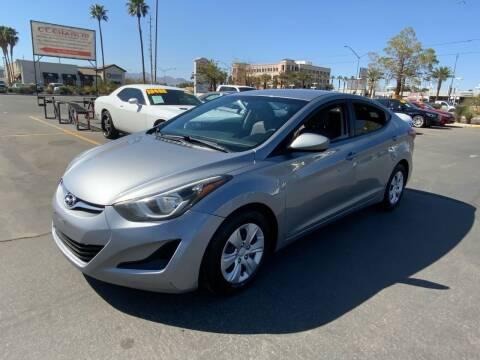2016 Hyundai Elantra for sale at Charlie Cheap Car in Las Vegas NV