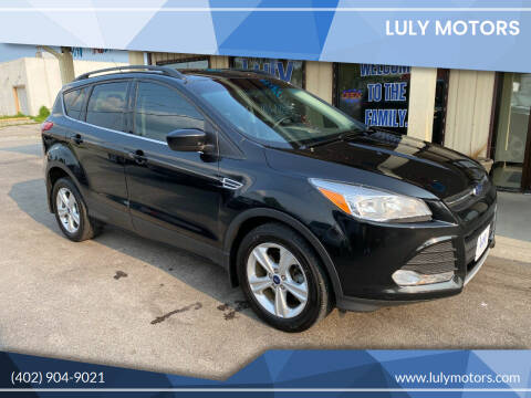 2014 Ford Escape for sale at Luly Motors in Lincoln NE