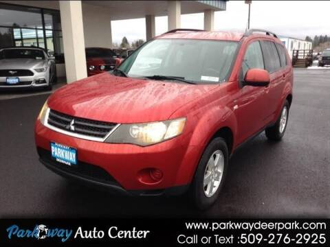 2008 Mitsubishi Outlander for sale at PARKWAY AUTO CENTER AND RV in Deer Park WA