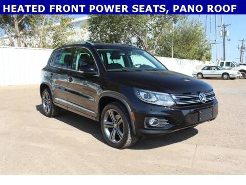 2017 Volkswagen Tiguan for sale at STANLEY FORD ANDREWS in Andrews TX