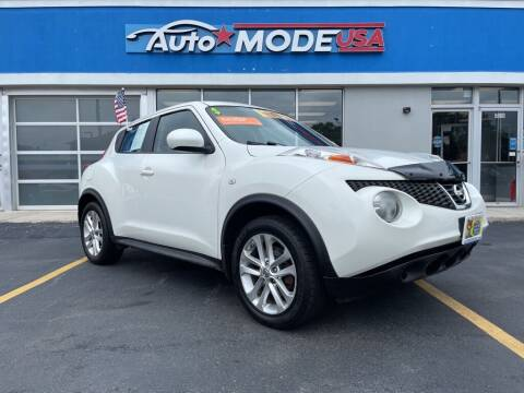2013 Nissan JUKE for sale at AUTO MODE USA in Burbank IL