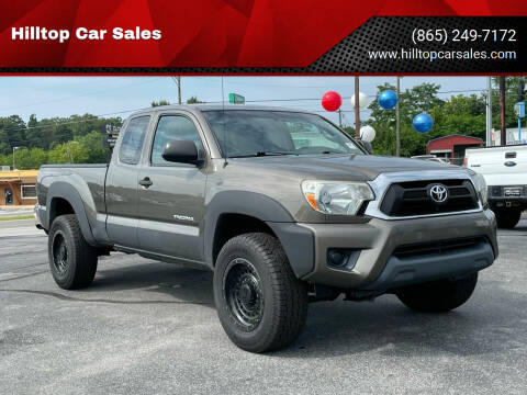 2013 Toyota Tacoma for sale at Hilltop Car Sales in Knoxville TN