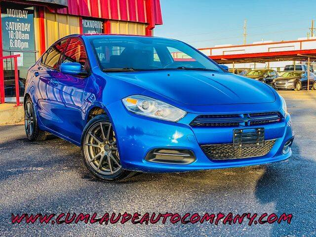 2015 Dodge Dart for sale at MAGNA CUM LAUDE AUTO COMPANY in Lubbock TX