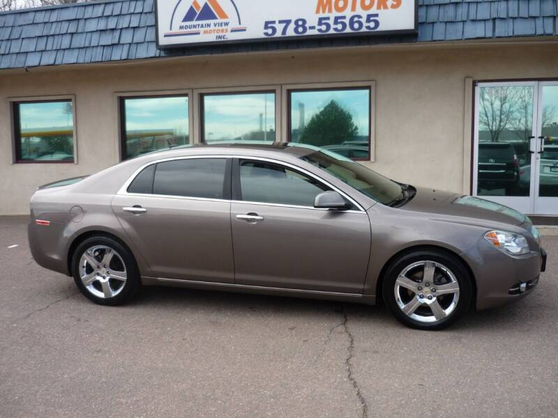 2011 Chevrolet Malibu for sale at Mountain View Motors Inc in Colorado Springs CO
