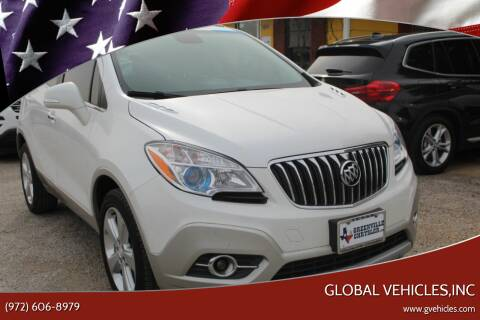 2016 Buick Encore for sale at Global Vehicles,Inc in Irving TX