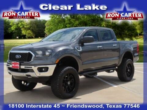 2019 Ford Ranger for sale at Ron Carter  Clear Lake Used Cars in Houston TX