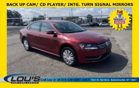 2015 Volkswagen Passat for sale at LOU'S CAR CARE CENTER in Baldwinsville NY