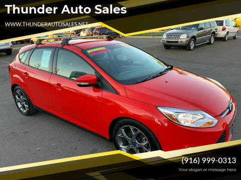 2014 Ford Focus for sale at Thunder Auto Sales in Sacramento CA