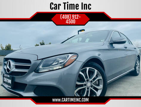 2015 Mercedes-Benz C-Class for sale at Car Time Inc in San Jose CA