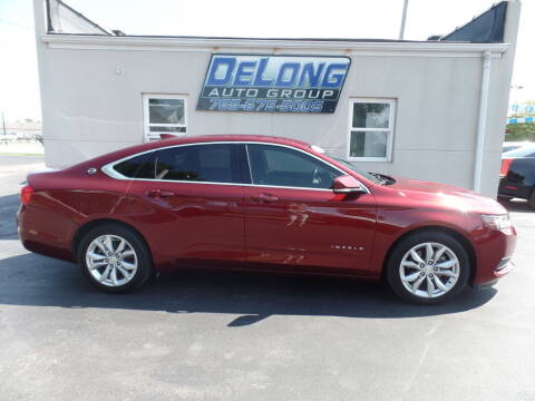 2016 Chevrolet Impala for sale at DeLong Auto Group in Tipton IN