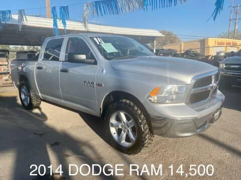 2014 RAM Ram Pickup 1500 for sale at Monaco Auto Center LLC in El Paso TX