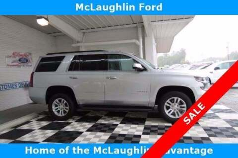 2019 Chevrolet Tahoe for sale at McLaughlin Ford in Sumter SC