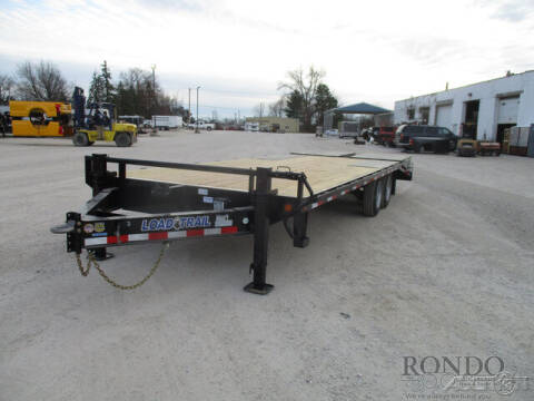 2021 Load Trail Equipment Deckover PS0224072 for sale at Rondo Truck & Trailer in Sycamore IL