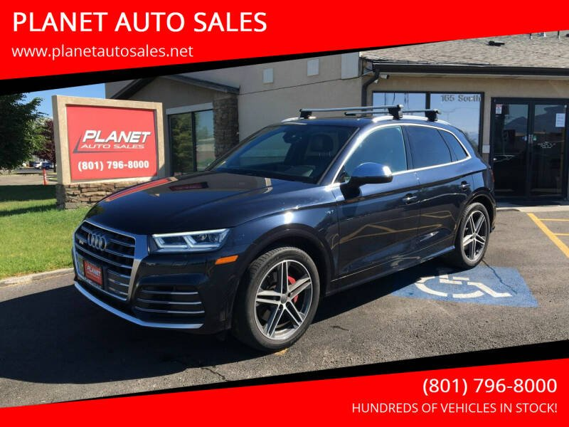 2018 Audi SQ5 for sale at PLANET AUTO SALES in Lindon UT