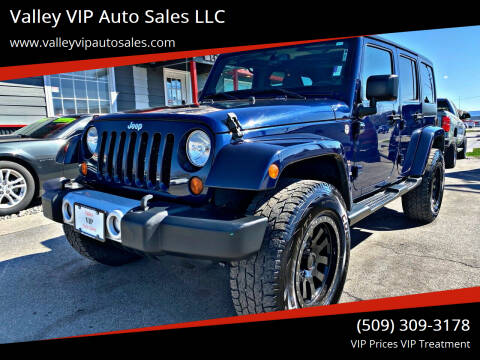 2013 Jeep Wrangler Unlimited for sale at Valley VIP Auto Sales LLC in Spokane Valley WA