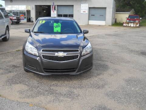2013 Chevrolet Malibu for sale at Shaw Motor Sales in Kalkaska MI