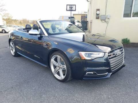 2013 Audi S5 for sale at John Huber Automotive LLC in New Holland PA