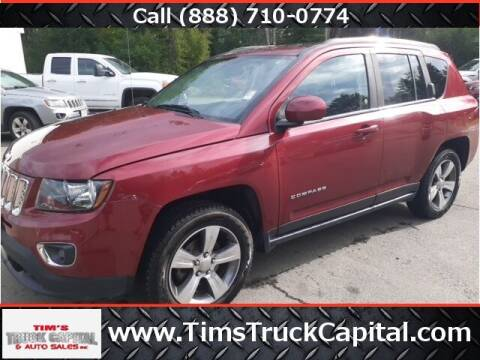 2016 Jeep Compass for sale at TTC AUTO OUTLET/TIM'S TRUCK CAPITAL & AUTO SALES INC ANNEX in Epsom NH